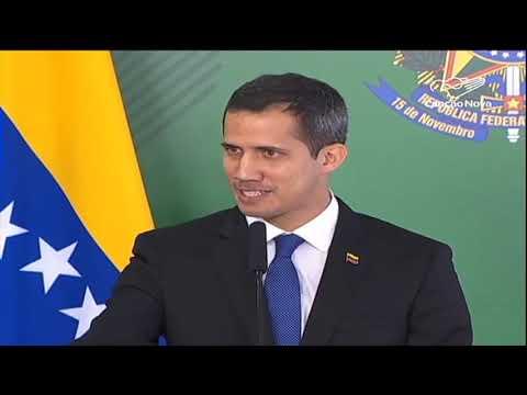 Juan Guaidó, autoproclamado presidente da Venezuela, vem ao Brasil
