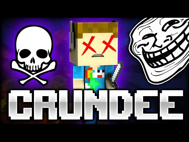 Minecraft: DELETE YOUR ITEMS TROLL - CRUNDEE CRAFT