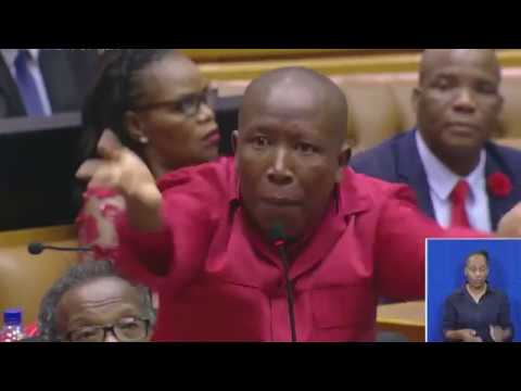 Was this Julius Malema's most scathing attack on Baleka Mbete EVER?