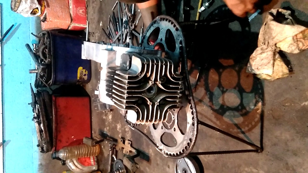 Tvs Xl Super Heavy Duty 2 Stroke Full Engine Fitting