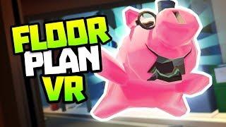 PIG HELPS MAN STUCK IN ELEVATOR! - Floor Plan VR Gameplay - VR HTC Vive Gameplay