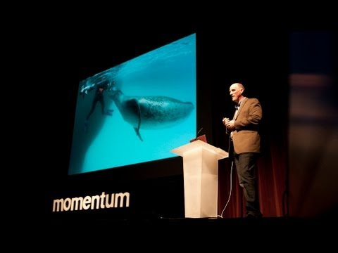 Momentum 2012: National Geographic Photographer Paul Nicklen