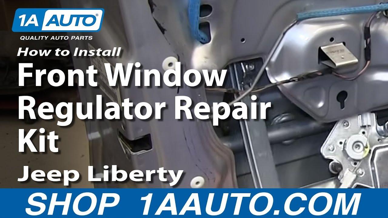 How To Install Front Window Regulator Repair Kit 2002 06
