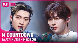 Download lagu [NU'EST - INSIDE OUT] Comeback Stage  #엠카운트다운   M COUNTDOWN EP.707   Mnet 210429 방송