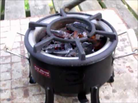 Unique Wood Or Charcoal Sigdi Stove For Outdoor Camp