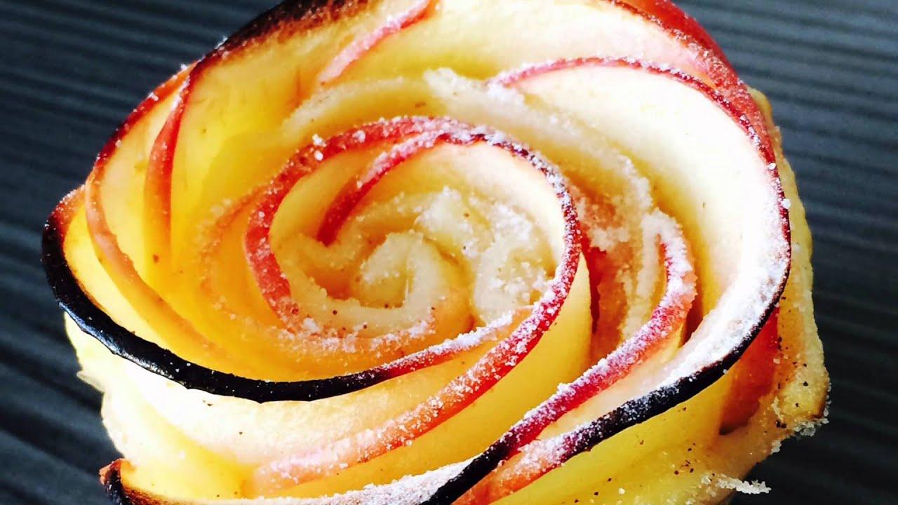 roses feuillet 233 es aux pommes la recette facile