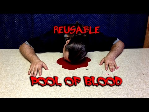 Reusable Pool Of Bood (Blood with no mess!) -Tips By TurtleDude Ep 6