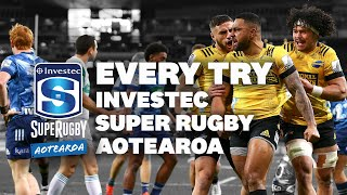 Every Try | Investec Super Rugby Aotearoa