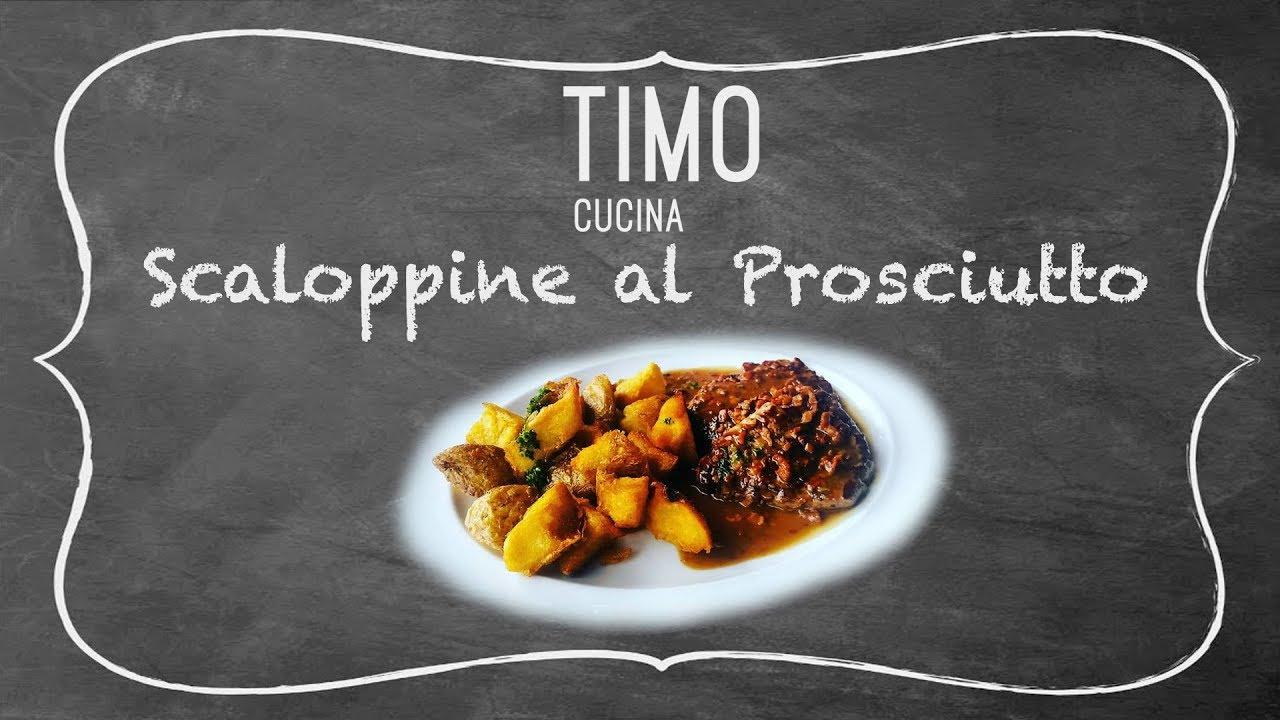 Scaloppine al Prosciutto - Timo Cucina | MARAVILHOSO - YouTube