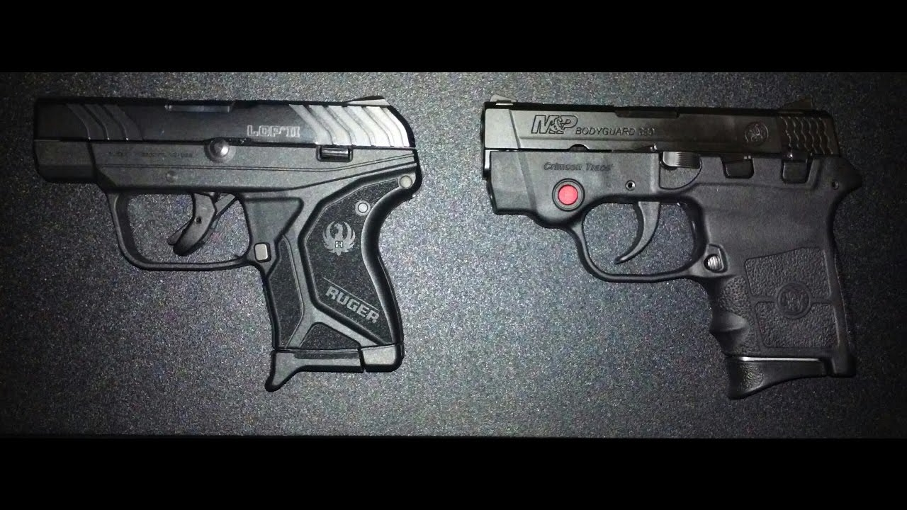 Ruger Lcp Ii Vs M Amp P Bodyguard 380