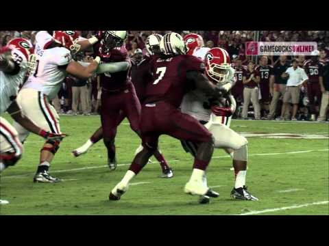 Highlights: South Carolina Football vs. Georgia
