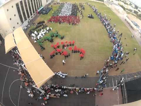 Balloon Release EIS Meadows Dubai Gopro Camera UAE National day 40 2011 Human Flag