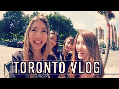 FIRST TIME IN TORONTO | FUSLIE VLOG