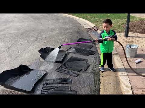Cleaning Weathertech Floor Mats Toyota Sienna
