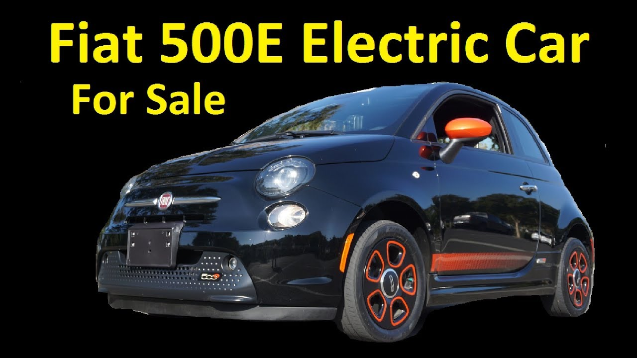 fiat 500e electric car for sale interior test drive buy export youtube. Black Bedroom Furniture Sets. Home Design Ideas