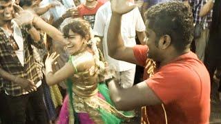 Girls Semma Kuthu Dance in Kulasai Dasara 2018
