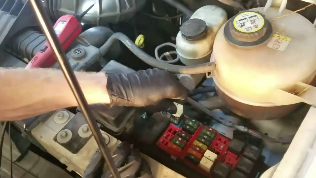 how to fix broken wire in harness 2002 ford e250 [ 1280 x 720 Pixel ]