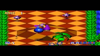 Sonic 3D Blast - RetroGameNinja Plays: Sonic 3D Blast (GEN) - User video