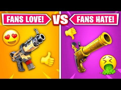 Top 10 REMOVED Fortnite Guns RANKED WORST TO BEST!