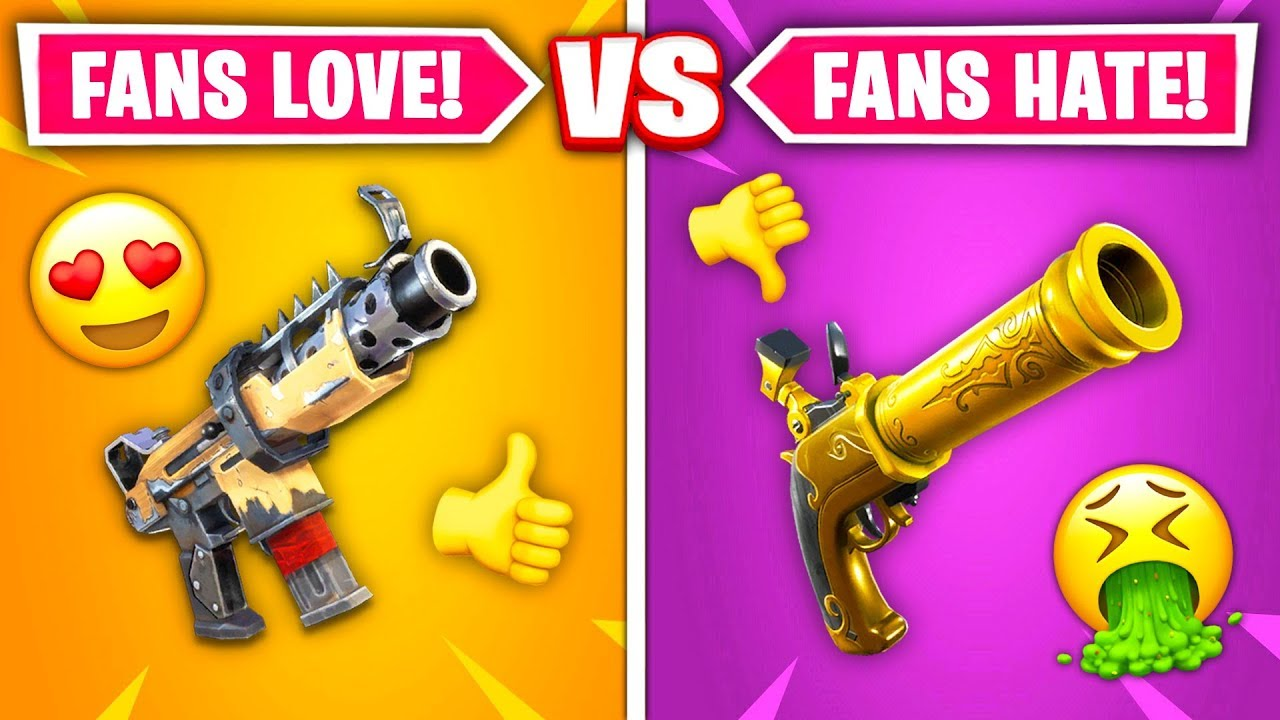 Download Top 10 REMOVED Fortnite Guns RANKED WORST TO BEST!