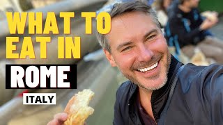 What To Eat In Rome Italy - Part 1
