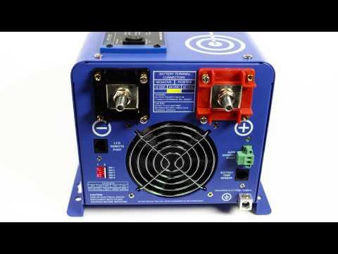 2000 Watt 24 volt Pure Sine Inverter Charger - PICOGLF20W24V120VR