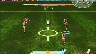 AFL Live 2004: Premiership Edition - Gameplay