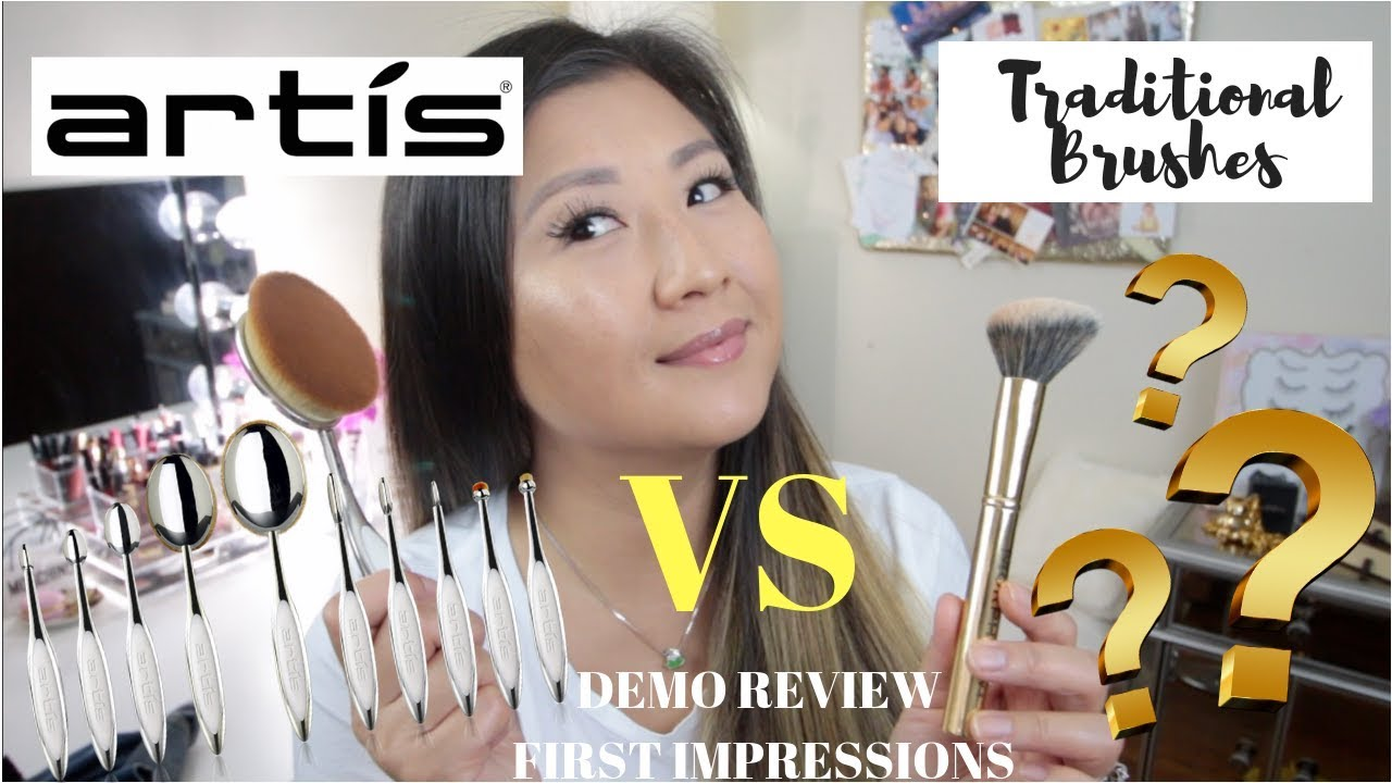 Artis Elite Mirror Oval 8 Brush Demo Review First Impressions