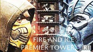 Mortal Kombat X Fire And Ice Premier Tower Scorpion Sub Zero Mortal Kombat XL Fatalities Brutalities