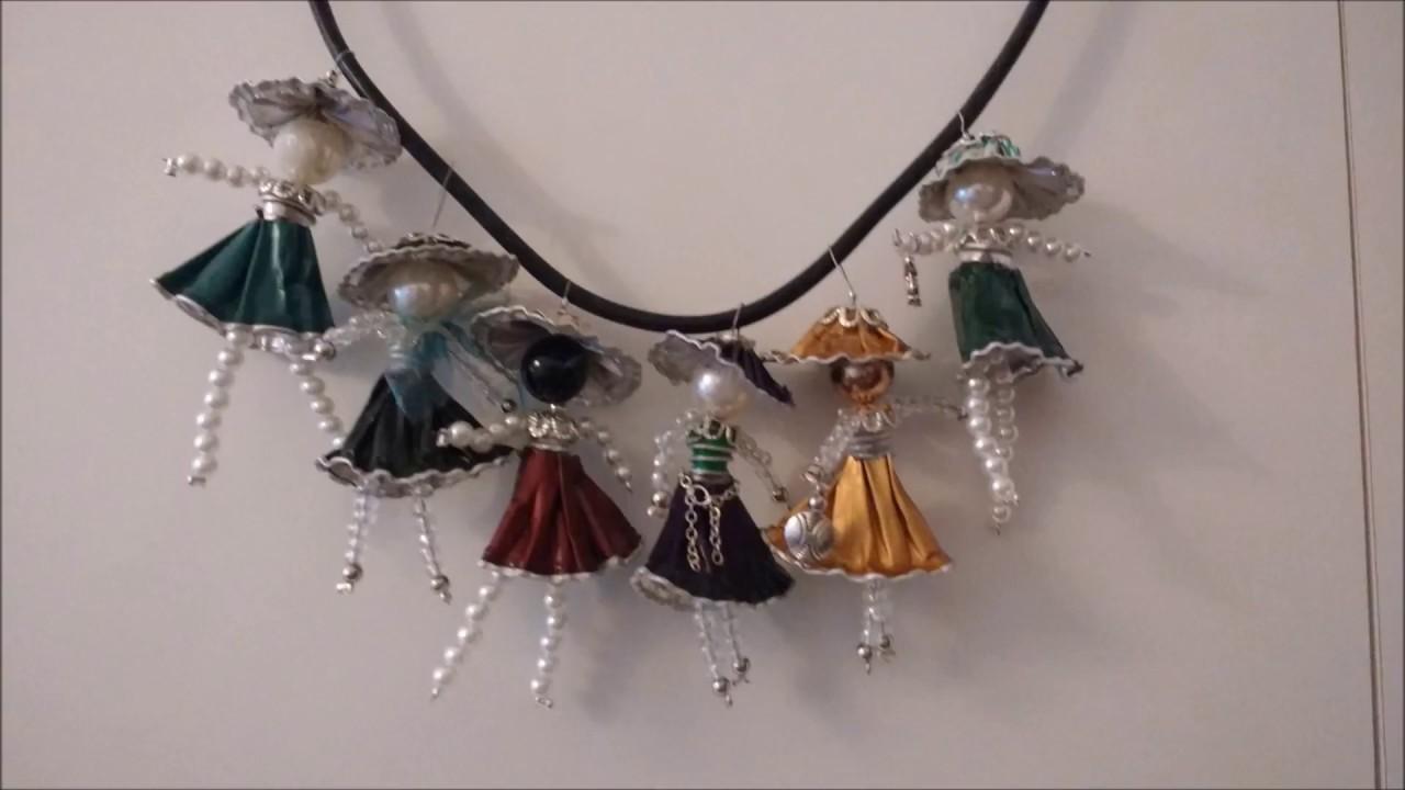 più alla moda prezzo basso più foto Tutorial Bambolina di cialde e perle