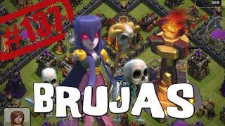 Brujas, torres infierno y hechizos de salto - Descubriendo Clash of Clans #137 [Español]
