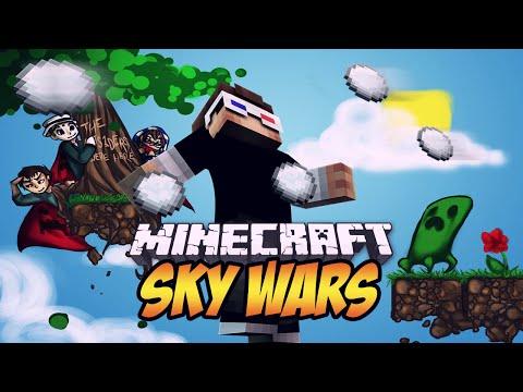 KORKUDAN ÖLMEK! - Minecraft Sky Wars! - Minecraft Gökyüzü Savaşları!