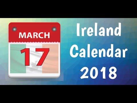 ireland calendar 2018 calendar with bank holidays google play