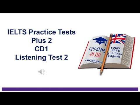 IELTS Practice Tests Plus 2 Listening Practice Test 2