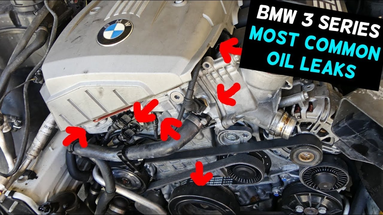 BMW 3 SERIES MOST COMMON OIL LEAK  YouTube