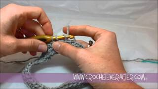 Left Hand Fair Isle Crochet Tutorial #1: How To Change Color