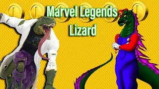 Marvel Legends BAF Lizard Review