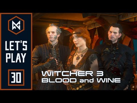 An intriguing reunion | Ep 30 | The Witcher 3: Blood and Wine [BLIND] | Let's Play