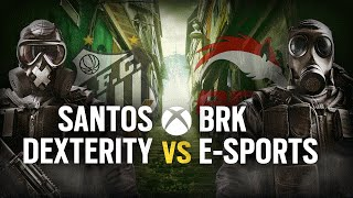[BR] SANTOS DEX vs. BRK E-SPORTS | Play Day #3 | EliteSix S03 (XBOX)