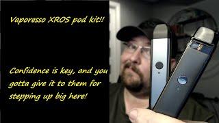 Vaporesso XROS kit! D๐es it beat the Caliburn?