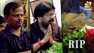 Kavan Director KV Anand's Father Passes Away | KM Venkatesan Death | T Rajendar