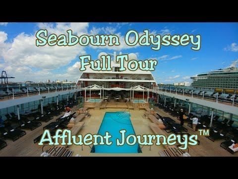 Seabourn Odyssey Full Tour in 1080p