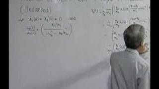 Module 12 - Lecture 1 - Systems with two degree of freedom