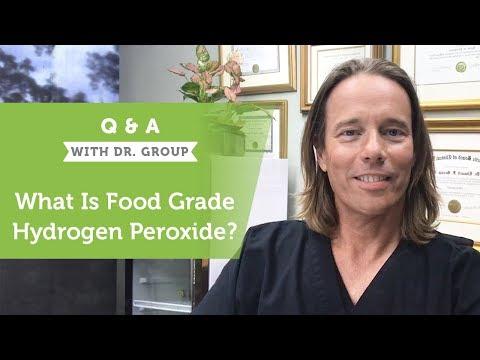 What Is Food Grade Hydrogen Peroxide?