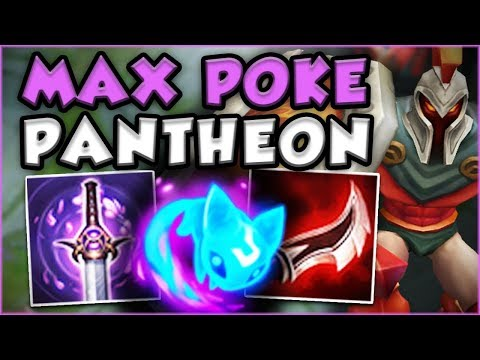 WTF?? ONE PANTHEON Q DOES HOW MUCH DAMAGE?! NEW SEASON 8 PANTHEON TOP GAMEPLAY! – League of Legends