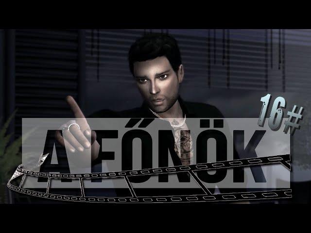 The Sims 4 | MACHINIMA🎬(Film) | A Főnök - A döntés - 16. epizód