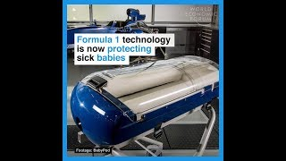 Formula 1 technology is now protecting sick babies