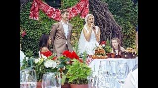 Первые фото со свадьбы Горбачевой и Никитина