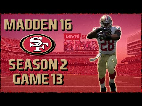 Madden 16 Franchise: San Francisco 49ers | Year 2, Game 13 @ Jets