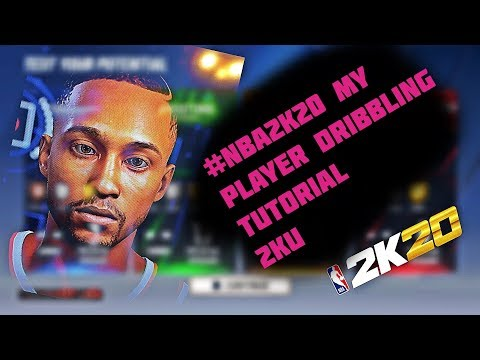 NBA 2K20 DRIBBLING TUTORIAL! STOP N GO HESI!! LEFT STICK DRIBBLE! TIGHT HANDLES BADGE! SIG SIZE UPS! thumbnail